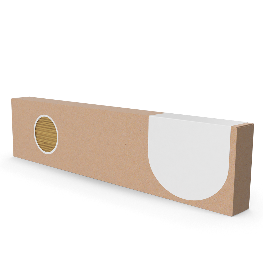 Caja vetical con ventanilla